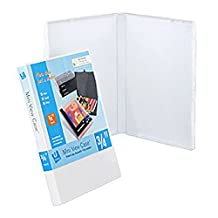 No Ring Case View Binder (19mm Spine) - Case of 40 - White