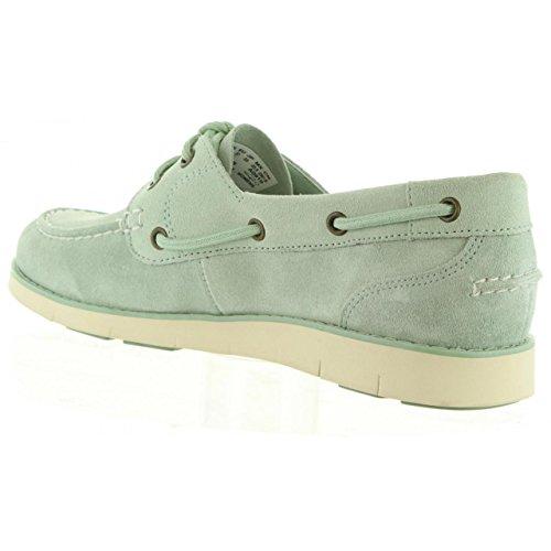 Femme pour LAKEVILLE bateau A1GDF Vert SILT TIMBERLAND GREEN Chaussures qzpwtt