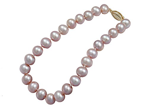 Lavender Freshwater Cultured Pearl Bracelet AA 6mm Lavender Freshwater Bracelets For Women Great Gift