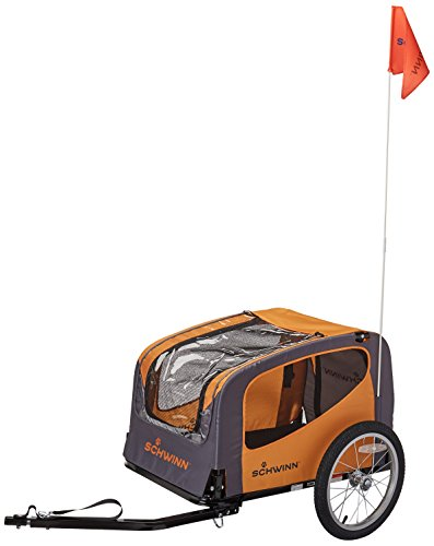 (Schwinn Rascal Pet Trailer, Orange/Grey )