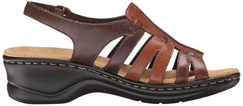 B Sandal Multi Lexi Leather 9 Women's m Clarks Brown 5 Marigold Q U7yfvcWZq