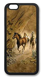 iphone 6 plus Cases & Covers -Sacred Passage Horse TPU Custom iphone 6 plus 5.5 inch Case Cover Black wangjiang maoyi