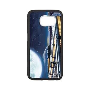 The Polar Express Samsung Galaxy S6 Cell Phone Case White UF1172061