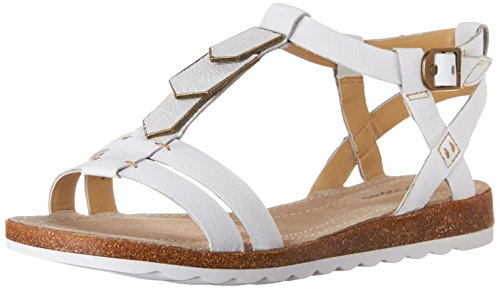 Leather Women's Off Hush Gladiator White Jade Puppies Bretta Sandal 5xwwO8qY