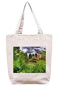 Colorido bosque–lona de algodón Tote Bag