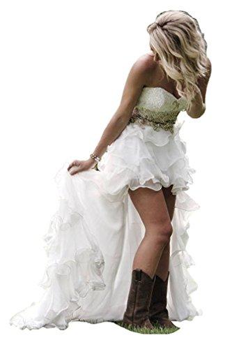 Organza Bridal Wedding Gown - 6