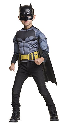 Muscle Shirt Child Costumes (Batman v Superman: Dawn of Justice Batman Muscle Chest Shirt)