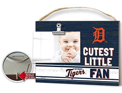 KH Sports Fan Clip It Colored Baby Logo Photo Frame Detroit Tigers