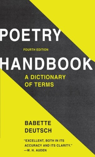 Poetry Handbook: A Dictionary of Terms