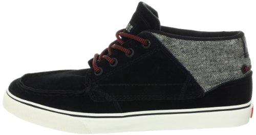 GLOBE Skateboard Shoes DUNCOMBE BENDER BLACK/TWEED/RED