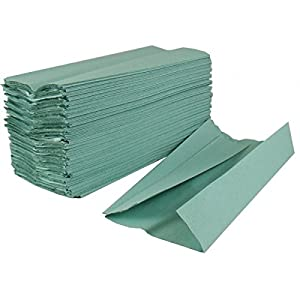 1-ply 2work Hand Towel - Green (Pack of 2955)
