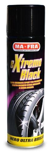 Nero Gomme Professionale.Mafra Extreme Black Nero Gomme Spray Ultra Brillante Con Effetto Bagnato Previene Le Screpolature Resistente A Pioggia E Lavaggi Frequenti