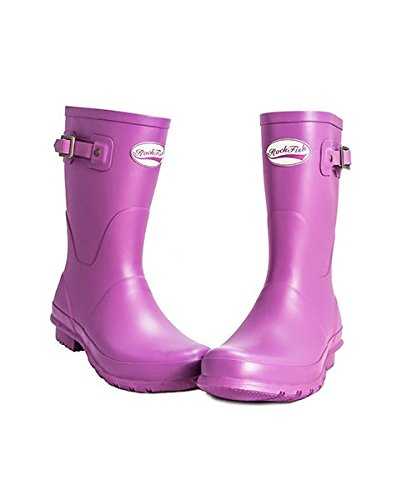 AWARD WINNING BOOTS, Handmade, Rockfish Short Wellington, Womens Wellies, Rain Boots, Including FREE DELIVERY Our Navy