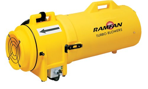 RamFan UB20 Confined Space 120V Blower and Duct/Canister - 25ft by Ramfan