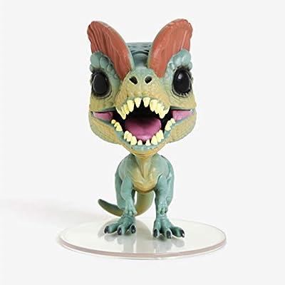 Funko 26736x Pop! Jurassic Park - Dilophosaurus Chase Pop! Vinyl: Toys & Games