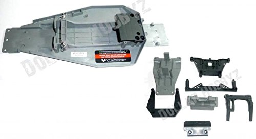 Traxxas RUSTLER VXL * CHASSIS, PLATE, SHOCK TOWERS, BUMPER, SKID PLATES & ()