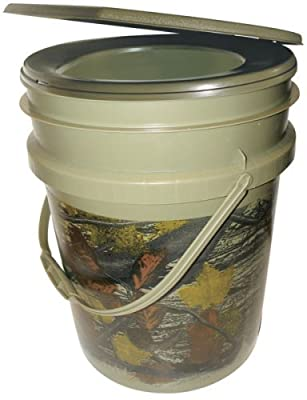 Reliance Products Hunter's Loo Portable 5 Gallon Camouflage Toilet