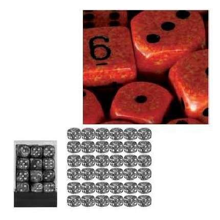 新到着 Chessex of Dice d6 Sets: Fire Six Speckled - 12mm B000CEFNZQ Six Sided Die (36) Block of Dice B000CEFNZQ, イーノスタイル:afd79808 --- cliente.opweb0005.servidorwebfacil.com