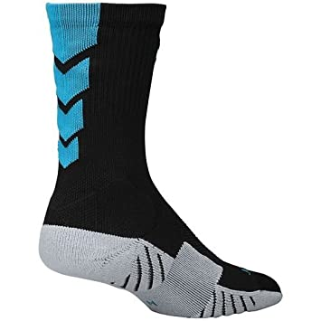 Nike Performance calcetines de fútbol – Negro & Azul Turquesa – Snug & Secure full-