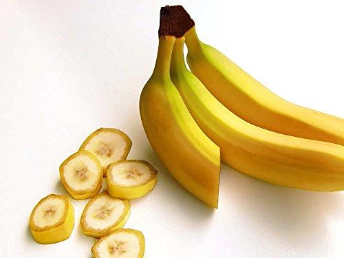 Indus Organics Dried Banana Slices, 1 Lb Bag, Sulfite Free, No Added Sugar, Premium Grade, High Purity, Freshly Packed