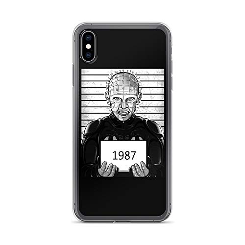 iPhone Xs Max Case Anti-Scratch Motion Picture Transparent Cases Cover The Dark Prince of Pain Movies Video Film Crystal Clear]()