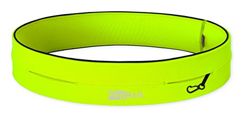 "Level Terrain FlipBelt Waist Pouch, Neon Yellow, Large/32"" 35"""