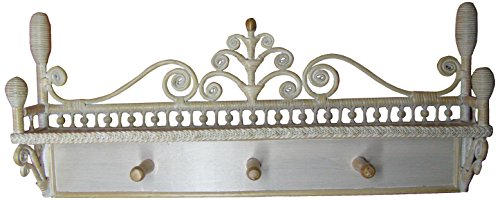 Spice Islands Victorian Coat Rack, Whitewash