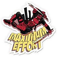 SLICKWRAPS Deadpool: Maximum Effort Sticker Decal for TRACKPAD