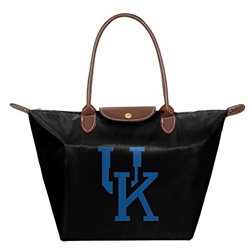 CHRIS University Of Kentucky Wildcats 02 Fashion Foldable Travelling Holder Bag Black