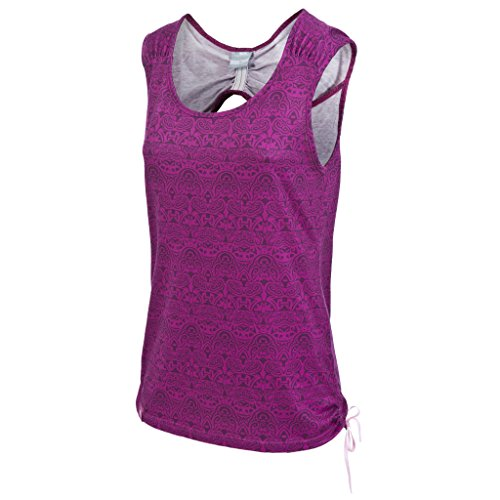 Trespass Womens/Ladies Ono Casual Sleeveless Round Neck Vest Top Azalea Print