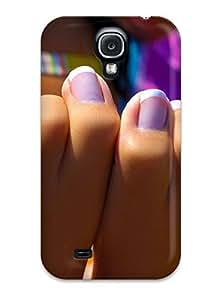 New California Beach Feet Tpu Case Cover, Anti-scratch MeSusges Phone Case For Galaxy S4