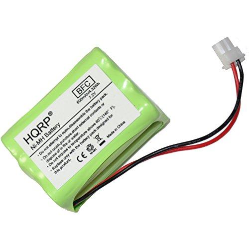 HQRP Battery for Dt-Systems LH060-3A43C6XRML SPT-2400 SPT-2420 SPT-2422 SPT-2430 SPT-2432 60AAAH6YM Dog Training Transmitter + Coaster ()
