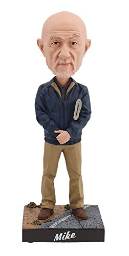 Royal Bobbles Better Call Saul Mike Ehrmantraut Bobblehead ()
