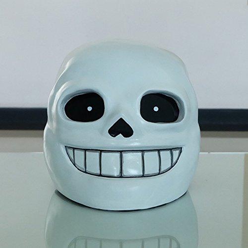1:1 Gift Halloween Costume Cosplay Movie Prop DJ Mask Undertale Sans Helmet MA513 (Halloween Movie Props)