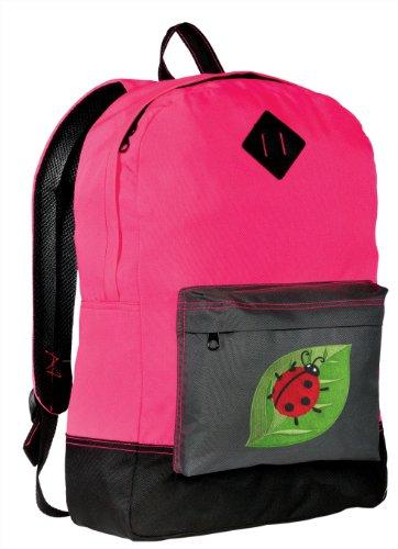 - Ladybugs Backpack CLASSIC STYLE Ladybug Backpacks High Visibility HI VIS Pink