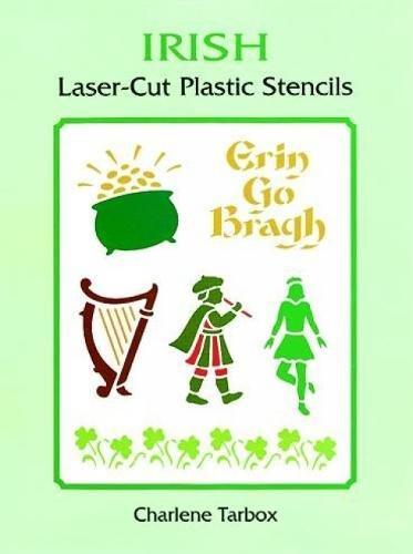 Irish Laser-Cut Plastic Stencils (Dover -