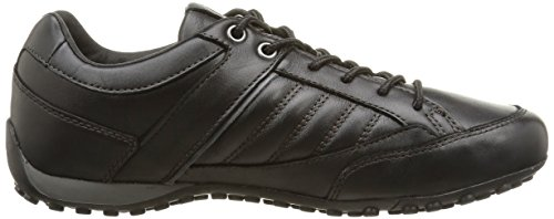 Geox U Snake B - Zapatos de Cordones hombre negro - Noir (C9999)