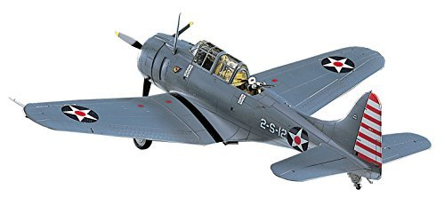Hasegawa 1/48 US Navy SBD-3 Dauntless plastic model for sale  Delivered anywhere in USA