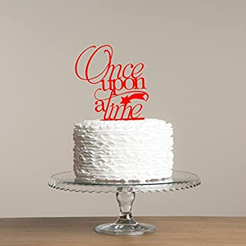 Avery Carey Once Upon A Time Cake Topper With Shooting Star