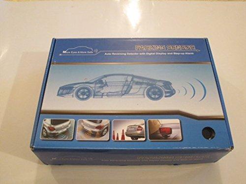furgonetas y caravanas color gris; se pueden pintar con alarma sonora y manual en italiano Kit de 4/sensores de aparcamiento para coche