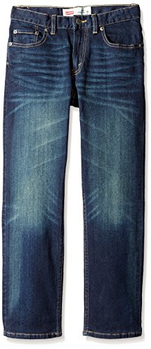 Levi's Boys' 541 Athletic Fit Jeans,Inky Spot, 16