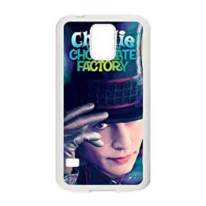 Charlie and the Chocolate Factory Samsung Galaxy S5 Cell Phone Case White Y7398500