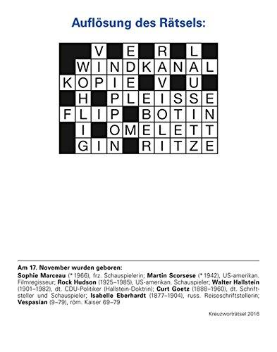 Kreuzworträtsel Eine Kulturtechnik