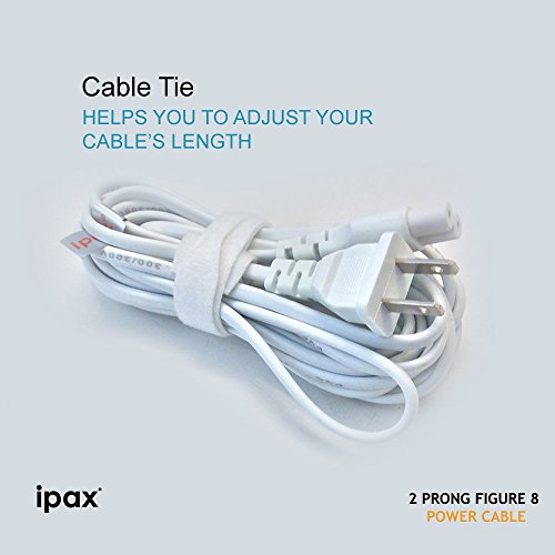 Ipax 10ft Long USB Printer Interface Cable and AC Power Cord for HP Deskjet 1112 2130 2132 2655 3633 3634 3755 HP Envy 4500 4520 5530 5540 5660 7640 7645 HP PhotoSmart 5510 5520 6510 6520 7510 by IPAX (Image #7)