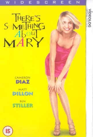 There S Something About Mary 1998 Vhs Peter Farrelly Bobby Farrelly Cameron Diaz Matt Dillon Peter Farrelly Bobby Farrelly Cameron Diaz Matt Dillon Amazon Co Uk Video
