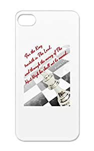 Christian Christianity Freedom Of Praise King Kingdom Religion Philosophy Drop Resistant White For Iphone 5 A Kingly Stature Case