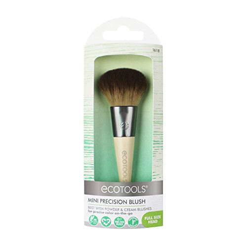 EcoTools Mini Precision Blush, Travel-Size Blush Brush with