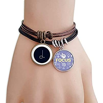 SeeParts White Music Dotted Mim Black Bracelet Rope Wristband Force Handcrafted Jewelry Estimated Price £9.99 -