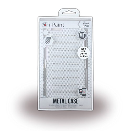 I-Paint Metall Case für iPhone 6 Plus, Weiß