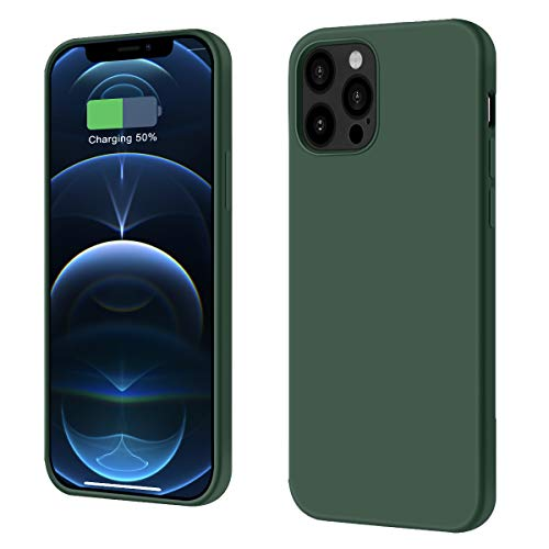 DOUDING Compatible with iPhone 12 Case,Designed for iPhone 12 Case 6.1 inch(2021),Liquid Silicone Gel Rubber Full Body Protection Shockproof Drop Protection Case
